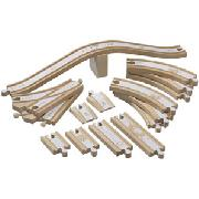 Brio Network Wooden Railway Track Multipack
