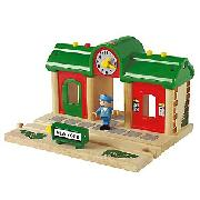 Brio Record and Play Wooden Railway System, 33668