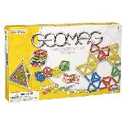 Geomag Magnetic Multicoloured, 132 Pieces