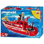 Playmobil 3128 Fire Rescue Boat