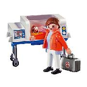 Playmobil 4225 Doctor with Incubator
