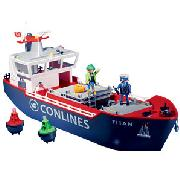 Playmobil Cargo Ship