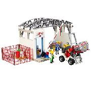Playmobil Cargo Zone with Forklift