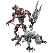 Lego Bionicles - Maxilos and Spinax