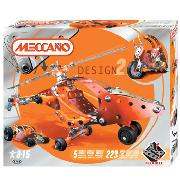 Meccano - Design 2 Helicopter
