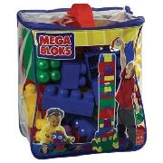 Megabloks - 80 Piece Bag Primary