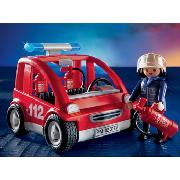 Playmobil - Fire Chief Car (3177)