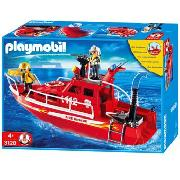 Playmobil - Fire Rescue Boat and Pump