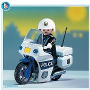 Playmobil - Police Officer and Cycle