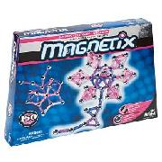 Magnetix - Hot Pink and Glitter 150 Piece Set