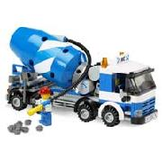 Lego City Concrete Mixer (7990)