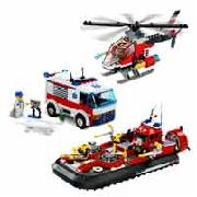 Lego City Water Rescue Pack 66177
