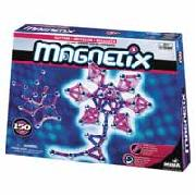 Magnetix 150 Piece Hot Pinks and Glitters Set