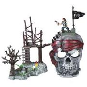Mega Bloks Pirates Skull Playset