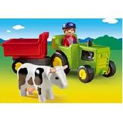 Playmobil 123 Farmer with Tractor (6715)