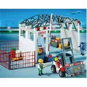 Playmobil Cargo Zone with Forklift (4314)