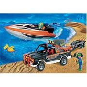 Playmobil Jeep with Powerboat (3399)
