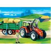 Playmobil Tractor with Trailer (4496)
