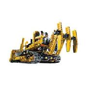 Lego Technic Motorised Track Loader.