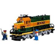 Lego Trains - Burlington Northern Santa Fe Locomotive