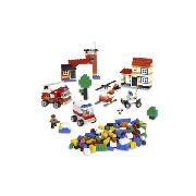 Lego Individual Bricks & Lego Rescue Building Set