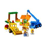 Lego DUPLO - Scoop and Lofty At the Building Yard