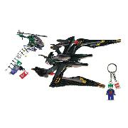 Lego Batman - the Batwing - Free Joker Keyring Included