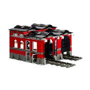Lego Train Engine Shed